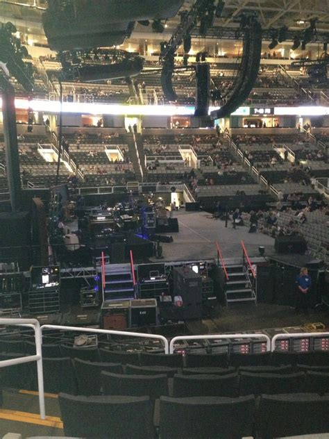 section 8 san jose sap center section 117 concert seating rateyourseats com