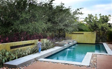 Landscape Design With Pool Modern Landscaping Scottsdale Az Photo Gallery