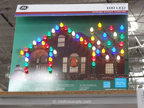 led light design ge c9 led christmas lights strings ge