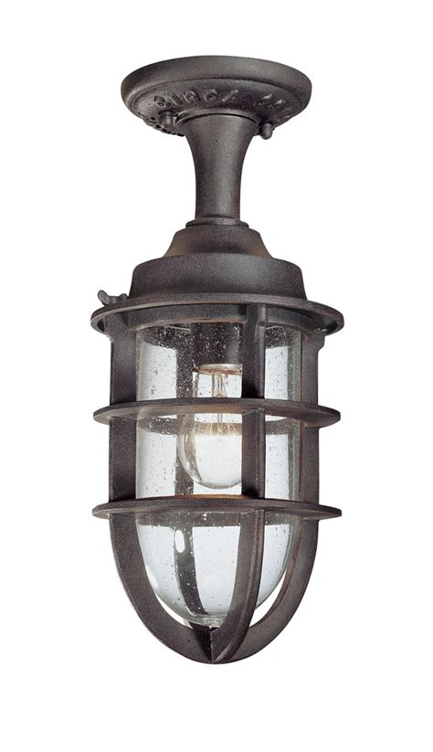 Troy Outdoor Lighting Fixtures Troy Lighting C1864nr Wilmington Traditional Outdoor Semi Flush Mount Ceiling Light Tl C 1864 Nr
