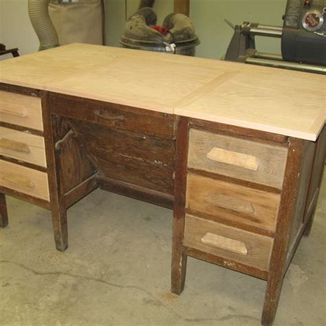 custom refurbished antique desk by the woodcraft shoppe