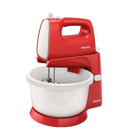 Mixer Philips Hr 1559 jual philips hr1559 new stand mixer merah harga kualitas terjamin blibli