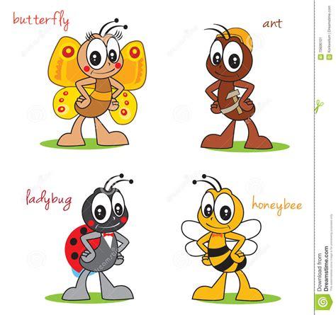 imagenes animados de insectos insectos divertidos de los personajes de dibujos animados