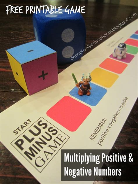 printable negative numbers games 515 best images about relentlessly fun deceptively