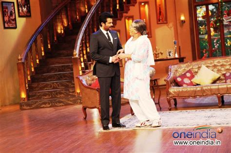 comedy nights with kapil on the sets the times of india photos anil kapoor s show 24 promotion on the sets of