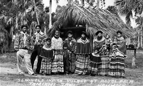 the seminole indians of florida genealogy trails happy florida seminoles and musa isle the florida memory blog