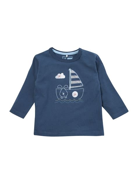 boat dog shirt organic cotton long sleeve t shirt