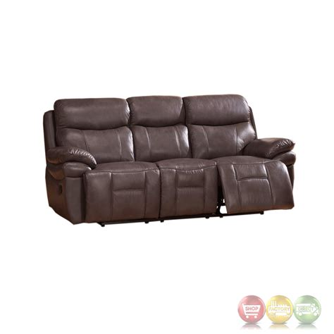 genuine leather recliner sofa set summerlands lay flat 3pc reclining sofa set in genuine