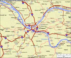 Pittsburgh Map Usa by Wheelin And Mealin Pittsburgh The Glutton S