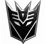 Decepticon Logo Sticker Transformers Decepticons