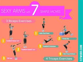 tricep workouts at home 1000 images about work out on