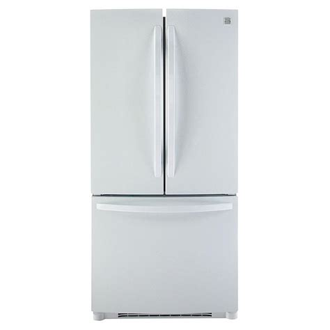 Kenmore Door Bottom Freezer by Kenmore 71302 22 7 Cu Ft Door Bottom Freezer