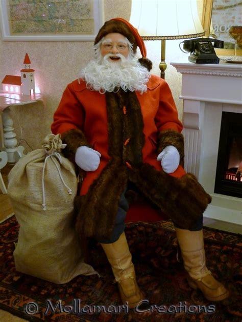 28 best size santa claus doll life size santas 1950s