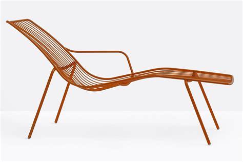 sedia chaise longue nolita chaise longue lettino pedrali in metallo per