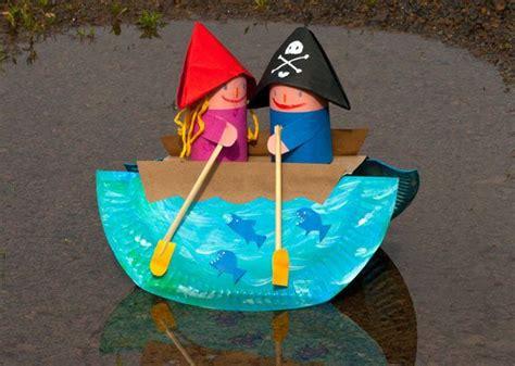 roeiboot surprise roeiboot knutselen met kleuters oc 233 an 224 la plage