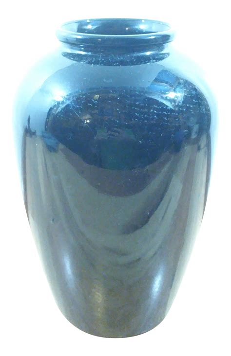 black ceramic vase chairish