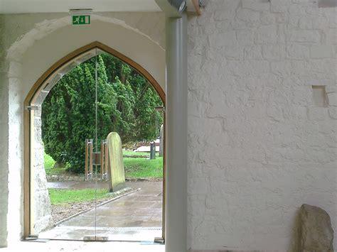 Church Glass Doors Veon Glass Bespoke Structural Glass Solutions Galilee Chapel St Illtud S Church Llantwit