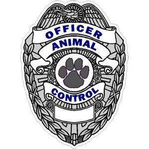animal control occupational stickers and magnets