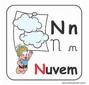 A Arte De Educar Alfabeto Da Turma M&244nica Em Letra
