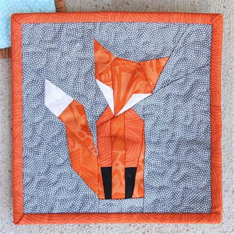Craftdrawer Crafts Free Quilt Pattern Patchwork Throw - foundation paper pieced mr fox craftsy