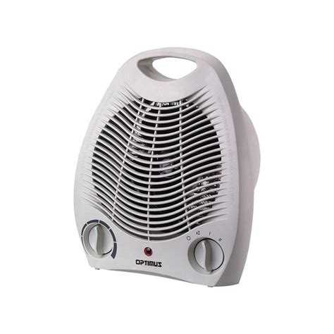 energy saving fan heater shop optimus 5 100 btu fan forced compact electric space