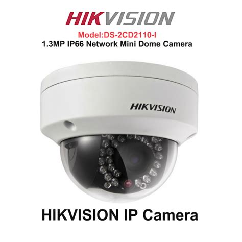 Ipcam Hikvision 13mp Ds 2cd2110 I hikvision ds 2cd2110 1 3mp ip dome cctv security