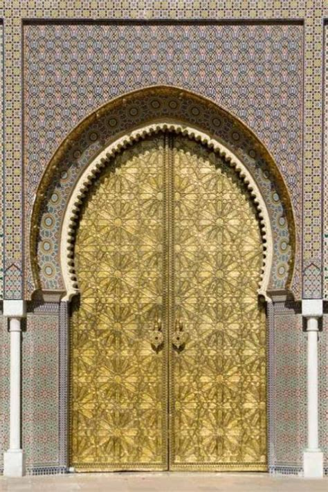 Moroccan Doors by Will Save He Who Listens At Doors Hears More Than