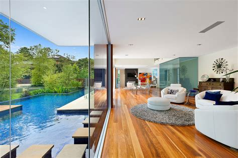 Just Two Fabulous Courtyards by Stunning Home With Two Pavilions Linked By A Central