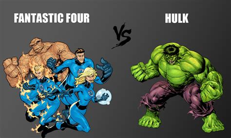 Fantastic Four Takes Place by It Takes Four To Fight Fantastic Four Vs