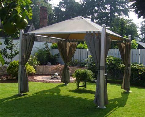 gartenpavillon sale top verarbeitung leco luxus garten pavillon golden sun
