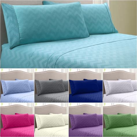 bedding sheets egyptian comfort 1800 count 4 piece deep pocket wrinkle