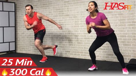 25 min hiit cardio abs workout without equipment at home