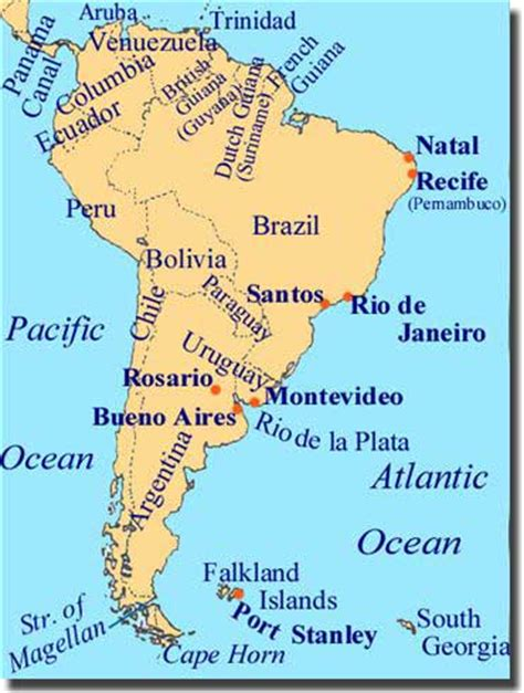 rivers of south america map map of south american rivers