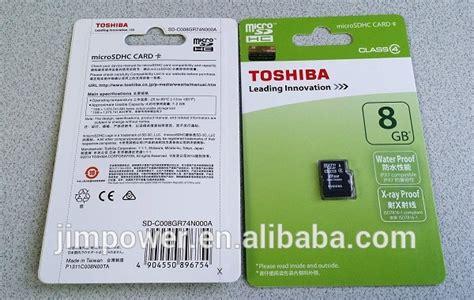 Micro Sd Toshiba 8gb Class 4 toshiba 8gb micro sdhc tf memory card class 4 buy