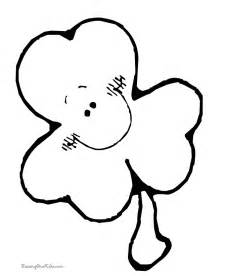 shamrock coloring pages free shamrock clipart images