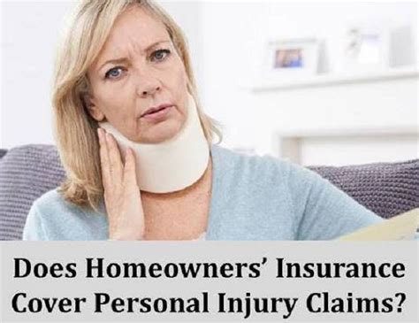 Does Homeowner S Insurance Cover Personal Injury Claims