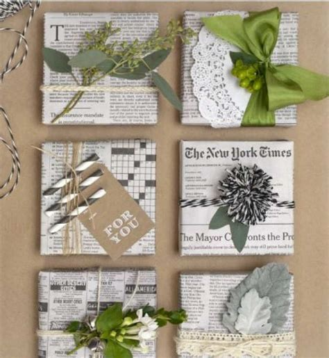 gift wrapping with newspaper ideas 10 and creative gift wrapping ideas tinyme