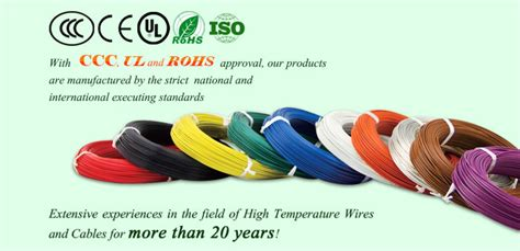 high temperature silicone rubber insulated wire and cable