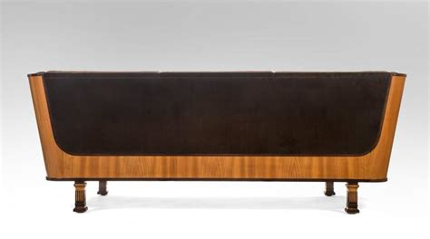 Elm Sofa Bed Erik Chambert Swedish Ebonzied And Elm Sofa Day Bed For