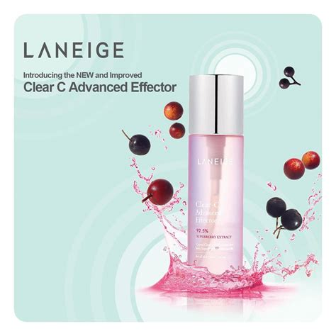 Laneige Clear C laneige clear c advanced effector giveaway for free