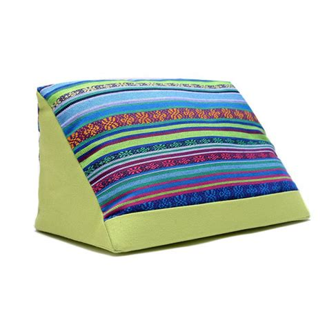 angled bed pillow tablet holder wedge pillow angled cushion lap stand ipad