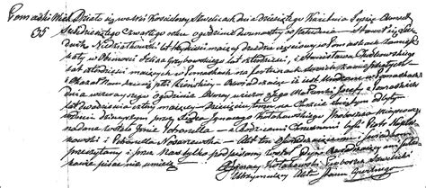 Birth Records Pre 1864 The Birth And Baptism Of Petronella Niedziałkowska 1864 Steve S Genealogy