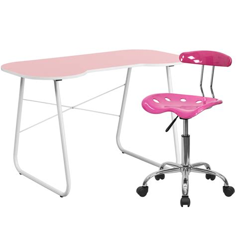 Pink Computer Desk Chair Home Office Sets Pink Computer Desk And Tractor Chair Nan 15lf Gg 5 Ba Stores
