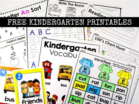 printables for kindergarten centers free kindergarten activities and worksheets simply kinder