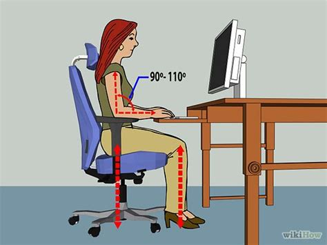 how to set up an ergonomically correct workstation