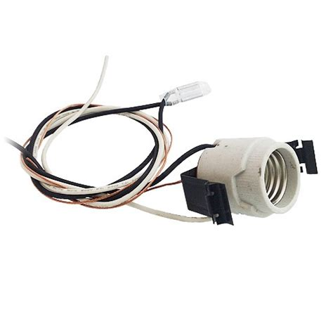 can light socket replacement 5 quot recessed lighting socket with pigtail and heat sensor