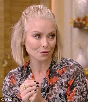 how does kelly ripa get her ringlets in her hair kelly and ryan tear up as she reveals dyslexic son gets as