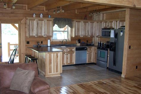 cabin kitchens ideas interior log home cabin pictures battle creek log homes