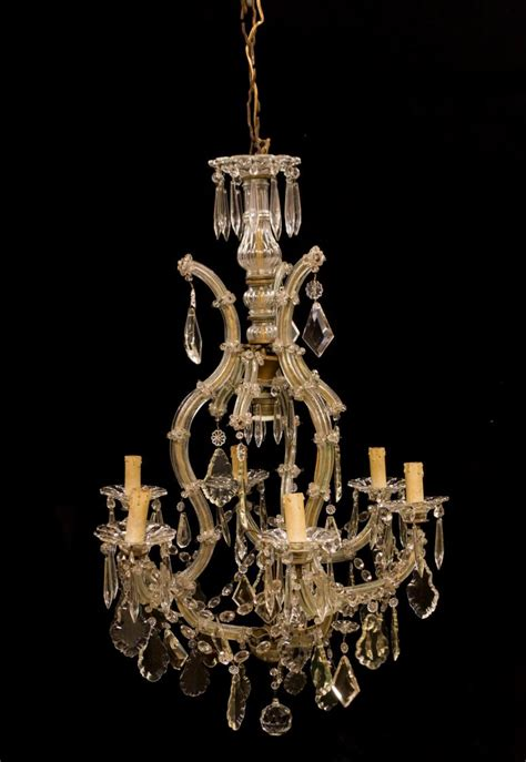 theresa 6 light chandelier italian theresa 6 light chandelier 20th c the