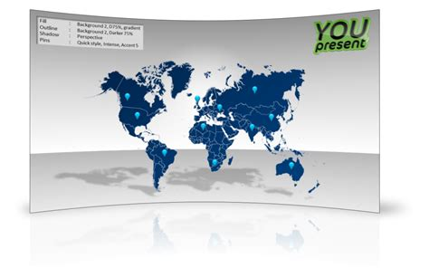 powerpoint template world world map template for powerpoint youpresent